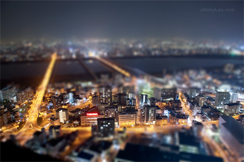 模型效果(Tilt-Shift Effect)