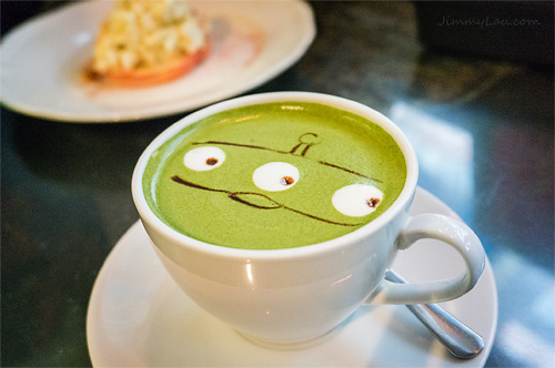 Cafe R&C: Green Tea Latte